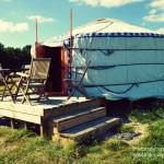 Avete mai dormito in una tenda mongola?
